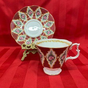 Royal Albert Bone china England Teacup & Saucer Ro